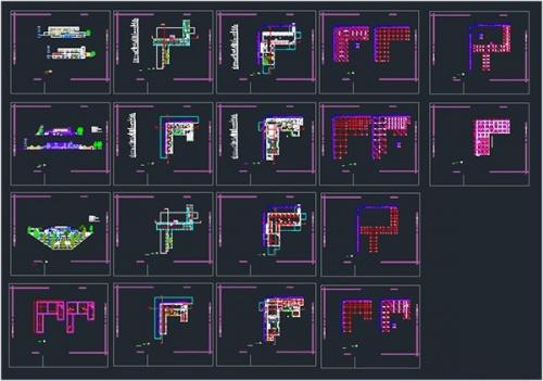 فایل اتوکد طراحی موزه مردم شناسی