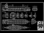 فایل اتوکد آبجکت کشتی کارگو (کشتی باربری) Cargo Ship