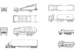 فایل اتوکد آبجکت انواع خودروی کامیون
