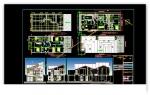دانلود فایل اتوکد ویلای دو طبقه (230 متر مربع)