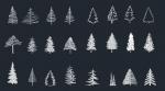 دانلود فایل آبجکت اتوکد انواع درخت کاج